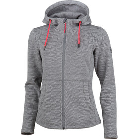 High Colorado Bergamo Strickfleece-Jacke Damen grau